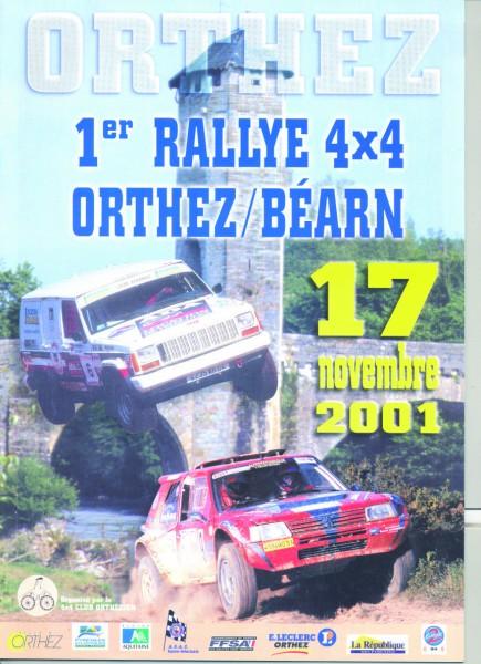 Rallye 2001, le premier !