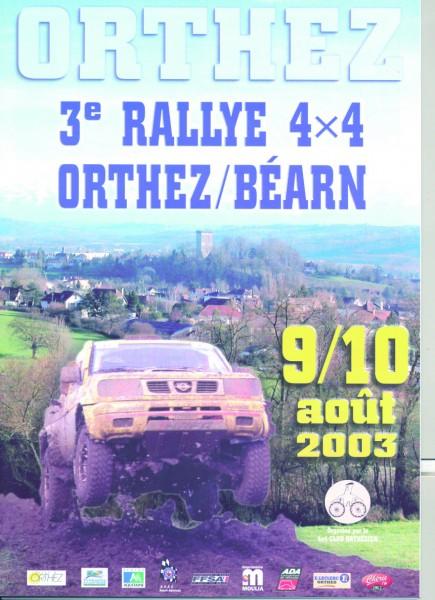 Rallye 2003
