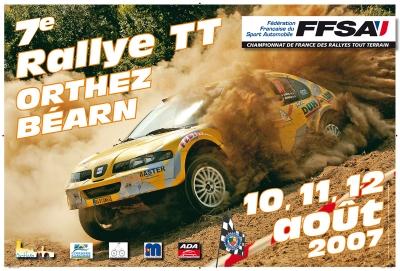 Rallye 2007 au format paysage