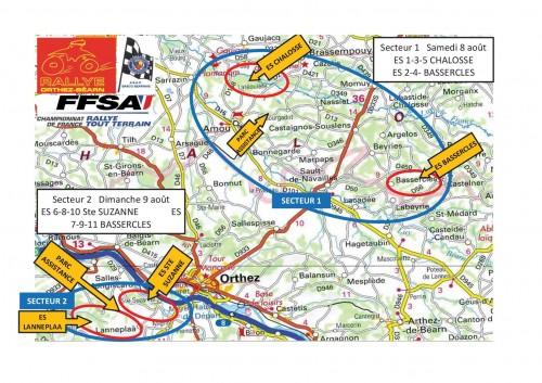Plan general ORTHEZ BEARN TT 2015